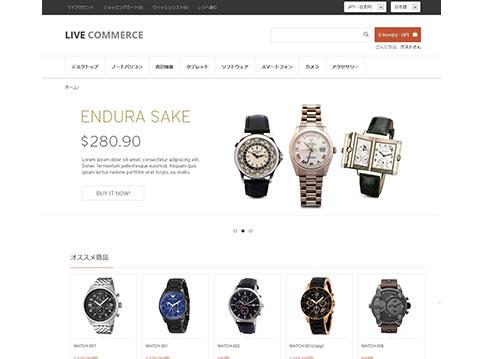 Live Commerce テーマ21
