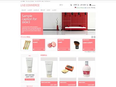 Live Commerce テーマ30P