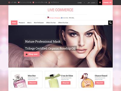 Live Commerce テーマ31